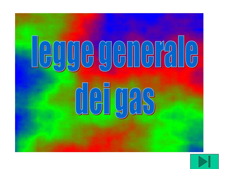 legge generale dei gas