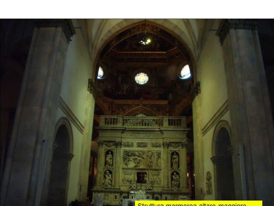 Struttura marmorea-altare maggiore