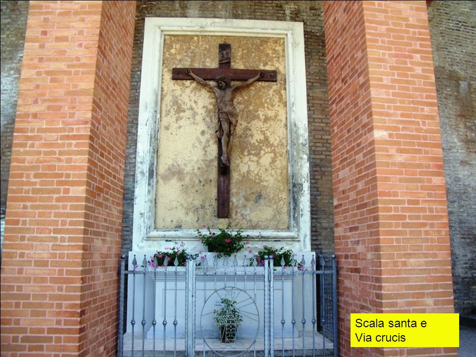 Scala santa e Via crucis