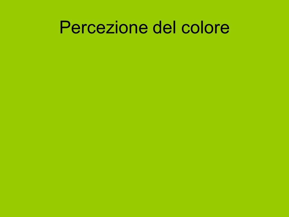 Percezione del colore