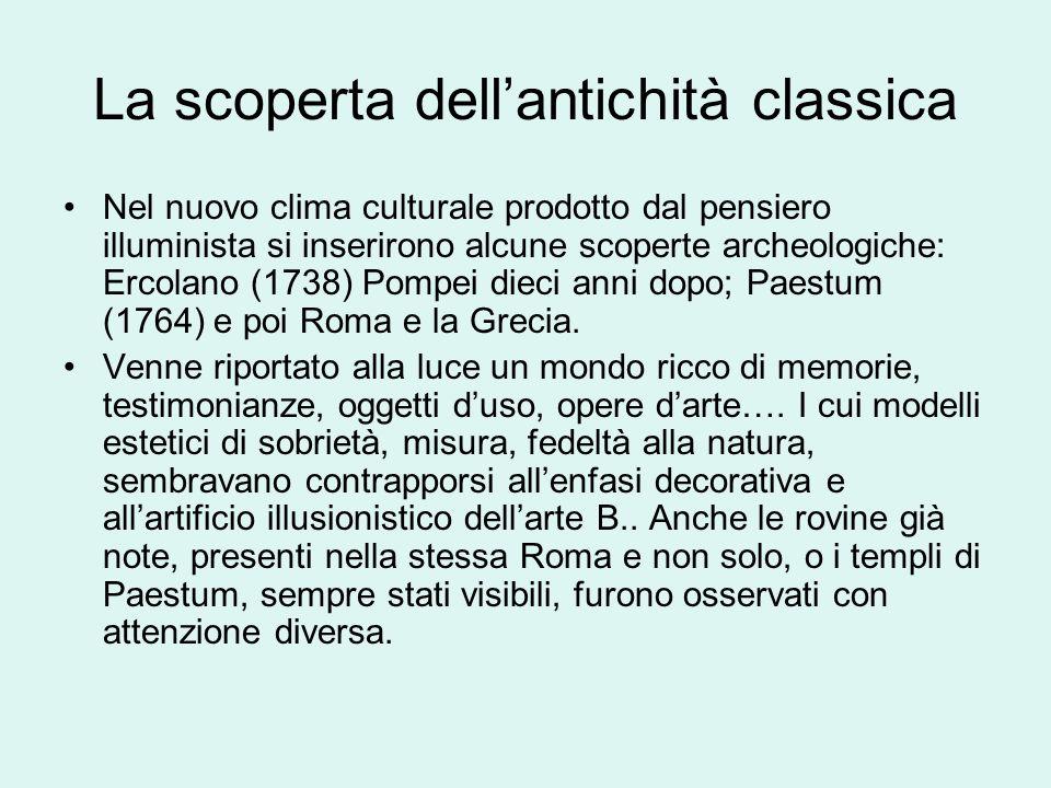 La scoperta dell'antichità classica