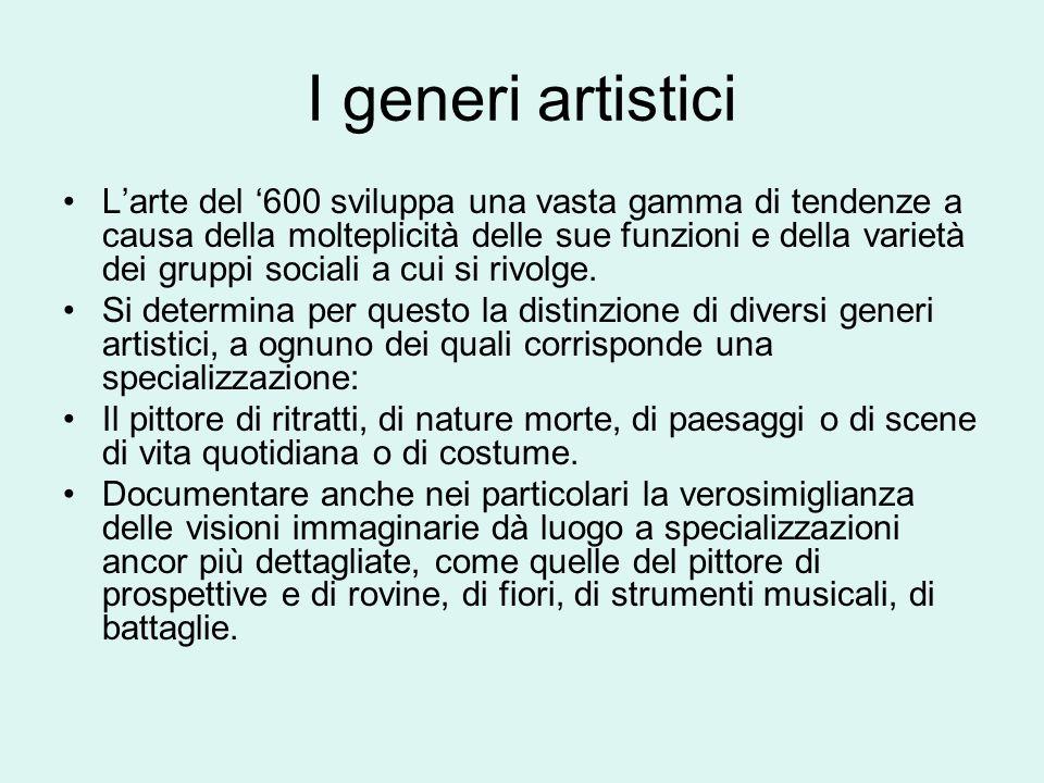 I generi artistici