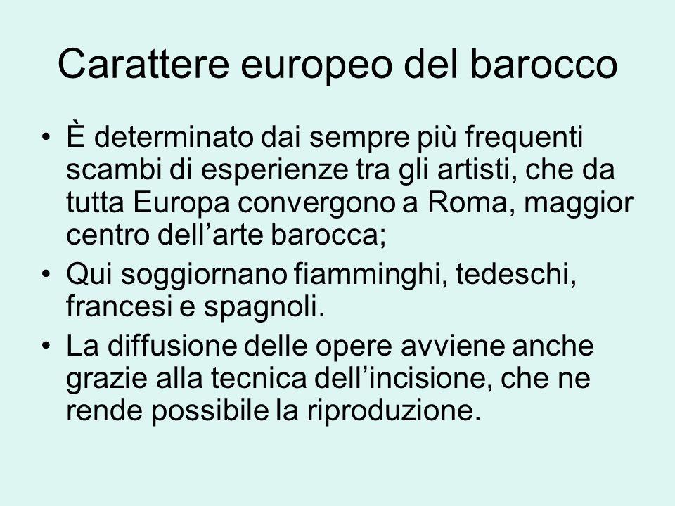Carattere europeo del barocco