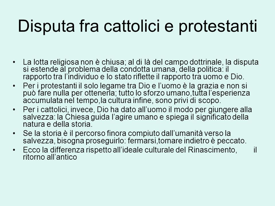 Disputa fra cattolici e protestanti