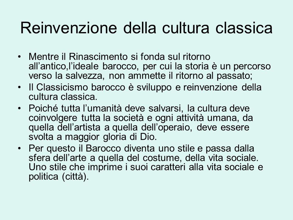 Reinvenzione della cultura classica
