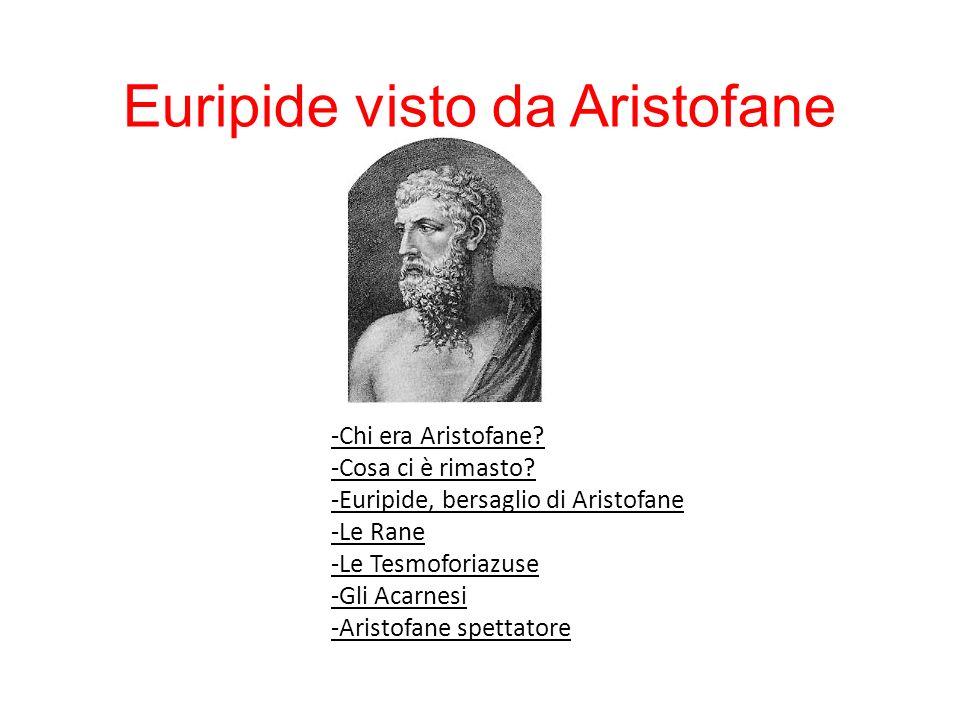 Euripide visto da Aristofane