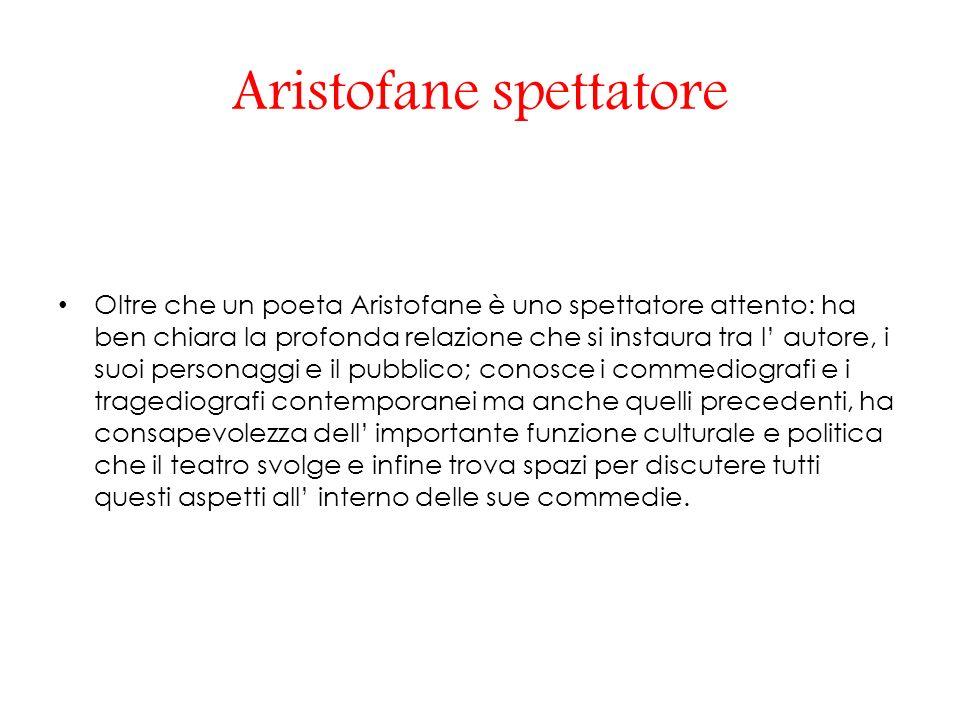 Aristofane spettatore