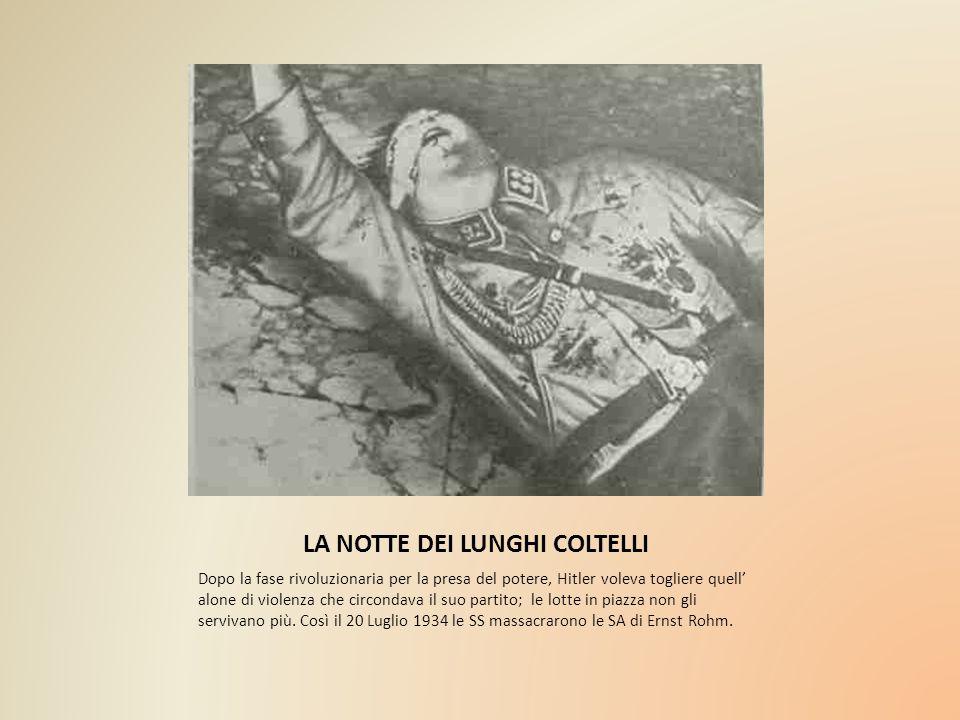 LA NOTTE DEI LUNGHI COLTELLI
