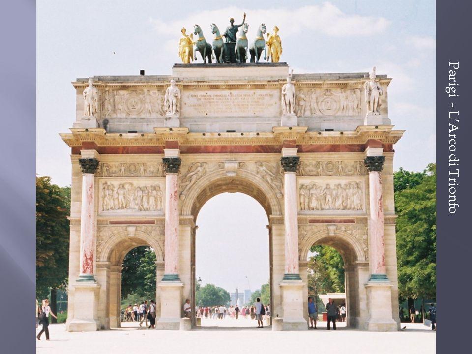 Parigi - L'Arco di Trionfo