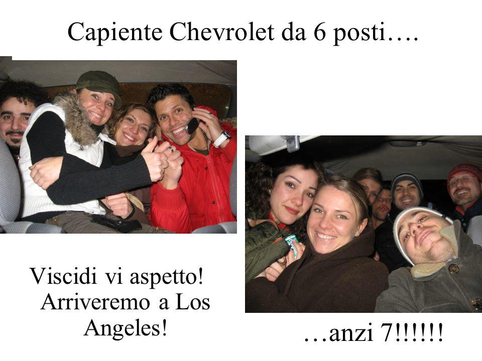 Capiente Chevrolet da 6 posti….