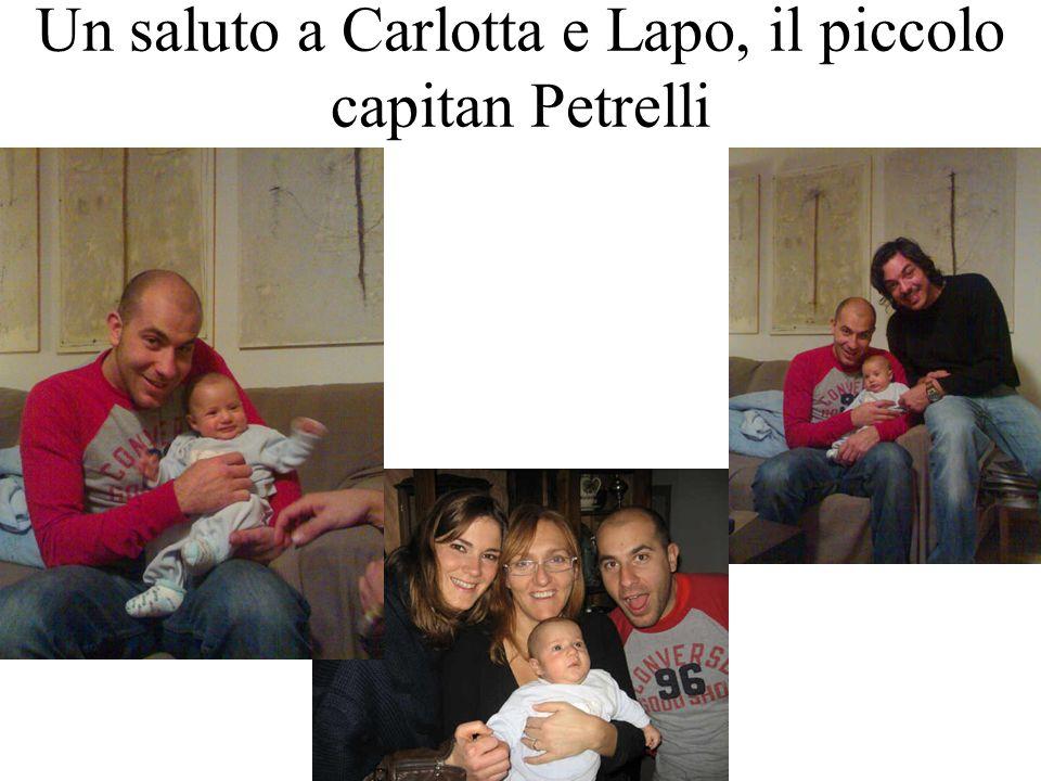 Un saluto a Carlotta e Lapo, il piccolo capitan Petrelli
