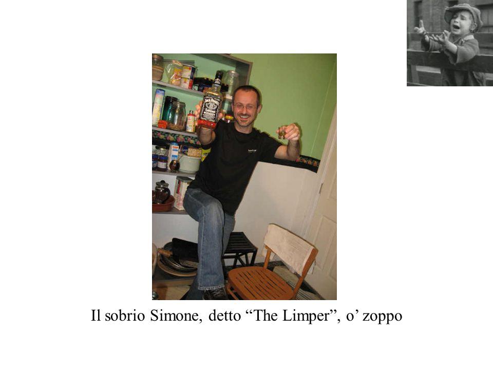 Il sobrio Simone, detto The Limper , o' zoppo