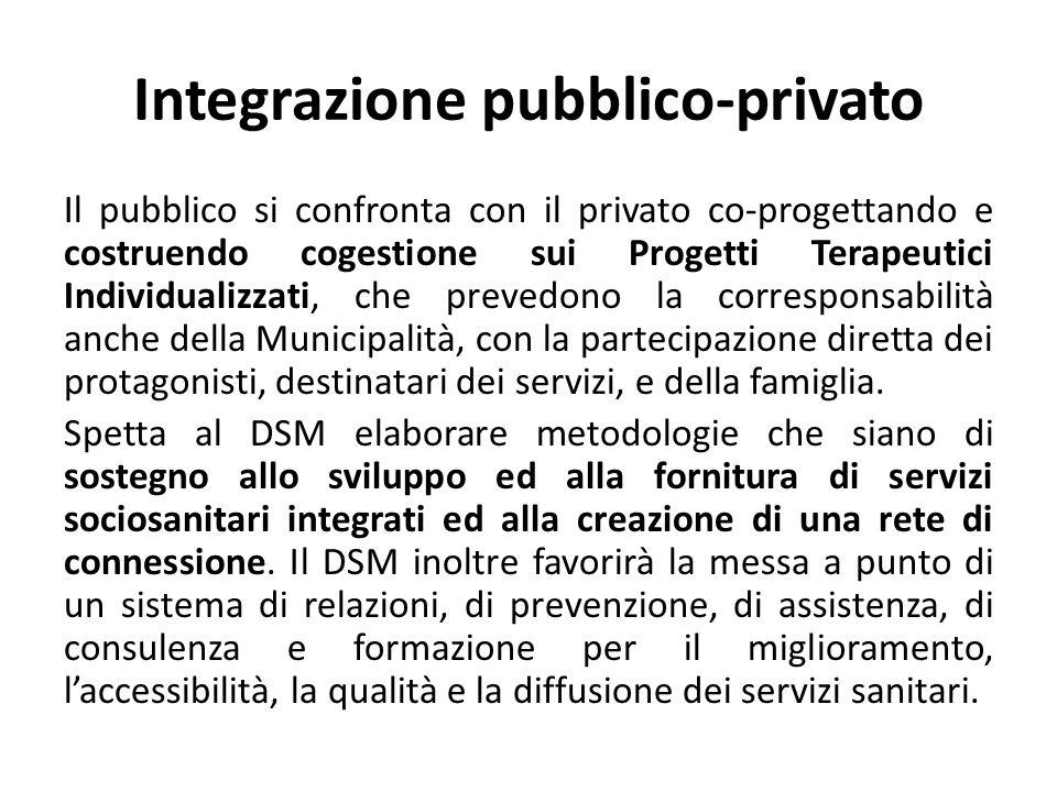 Integrazione pubblico-privato