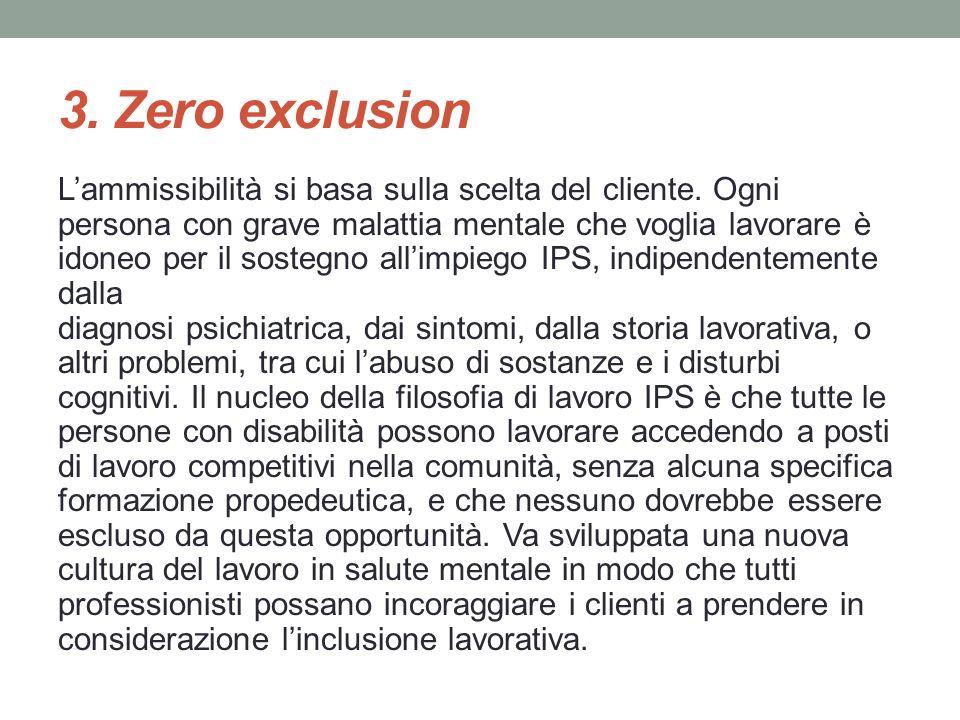 3. Zero exclusion