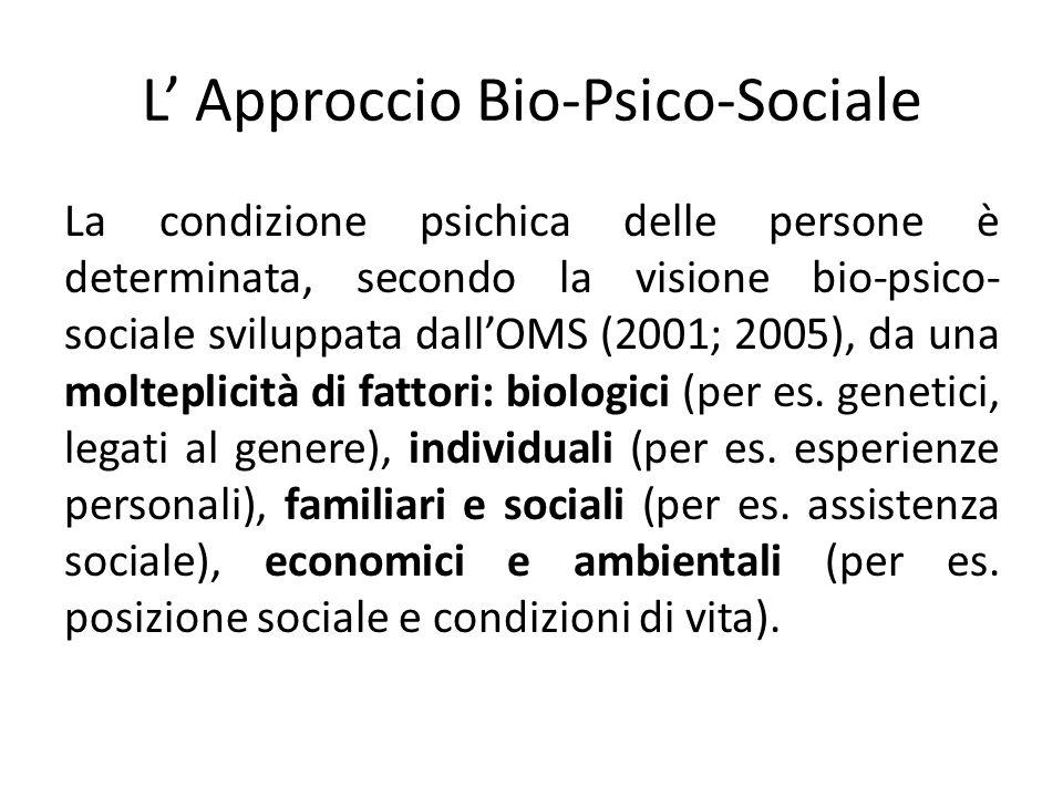 L' Approccio Bio-Psico-Sociale