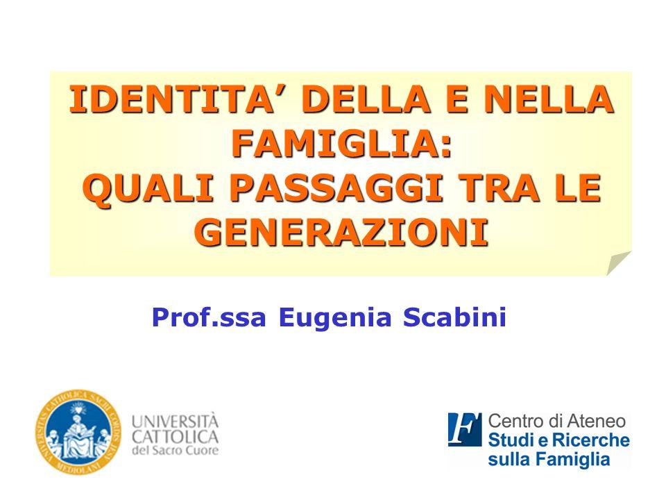 Prof.ssa Eugenia Scabini