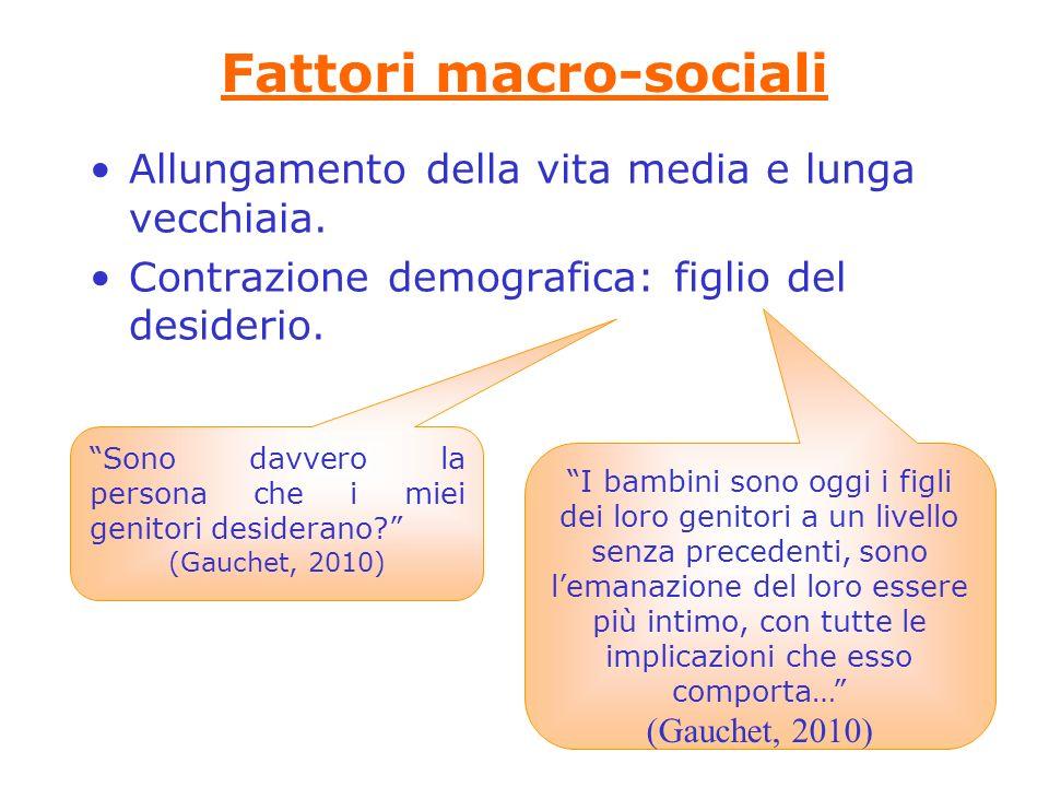 Fattori macro-sociali