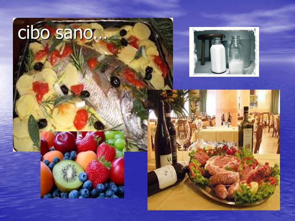 cibo sano…