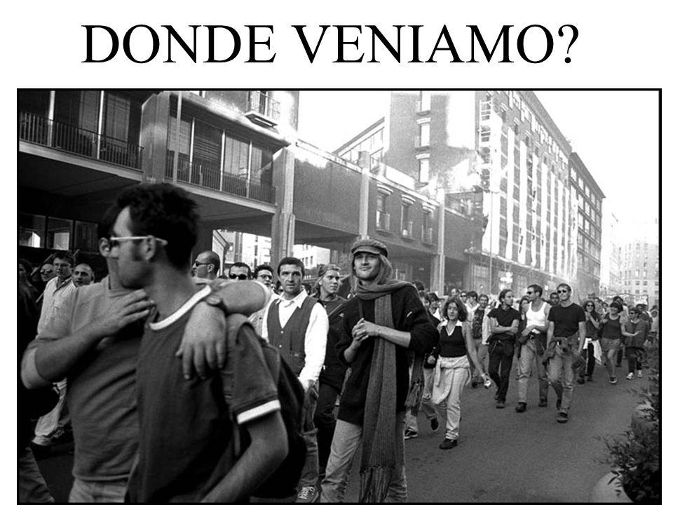 DONDE VENIAMO