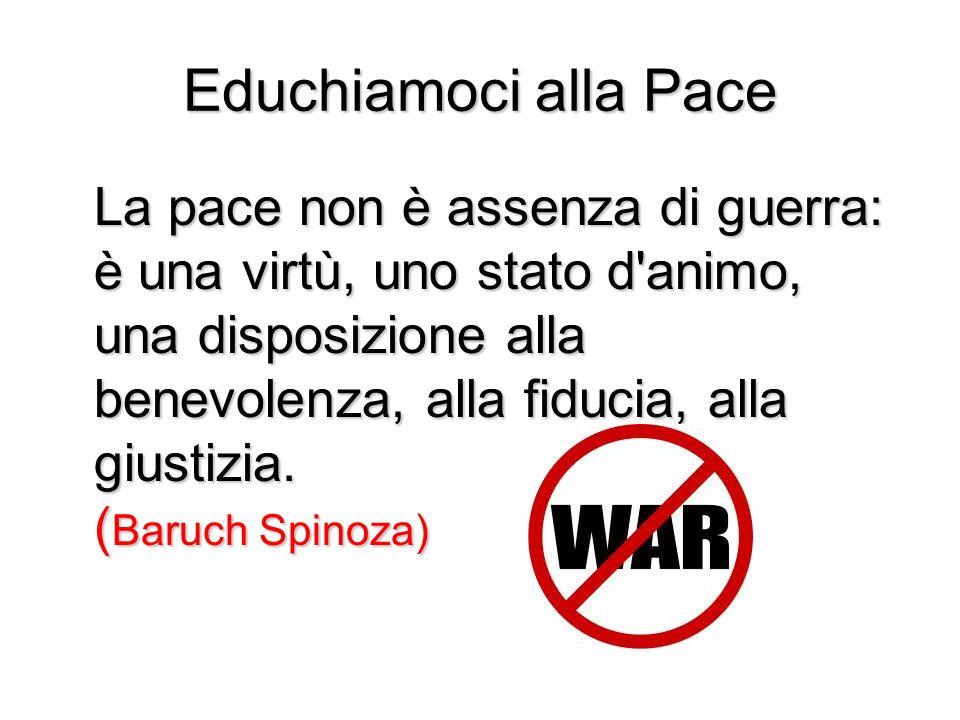 Educhiamoci alla Pace