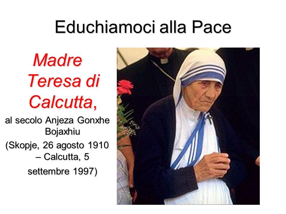 Madre Teresa di Calcutta,
