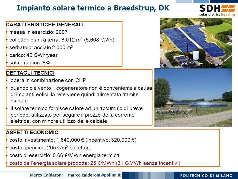 Impianto solare termico a Braedstrup, DK