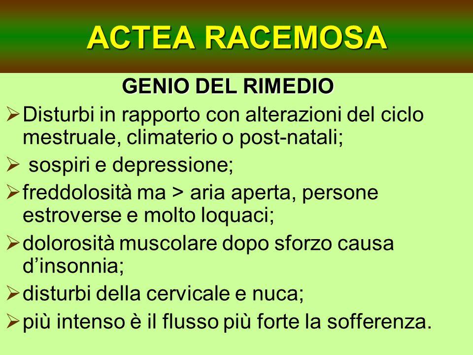 ACTEA RACEMOSA GENIO DEL RIMEDIO