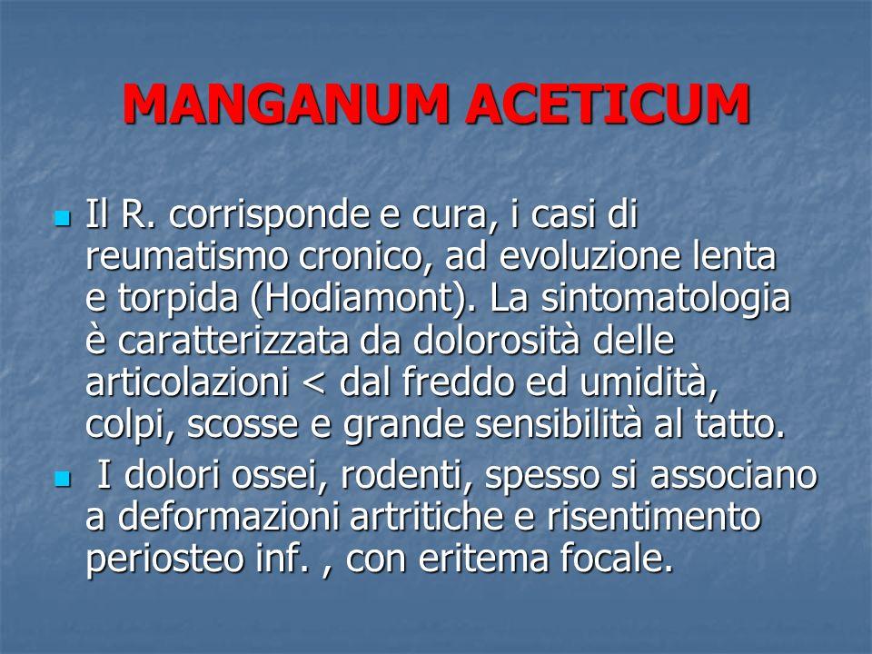 MANGANUM ACETICUM