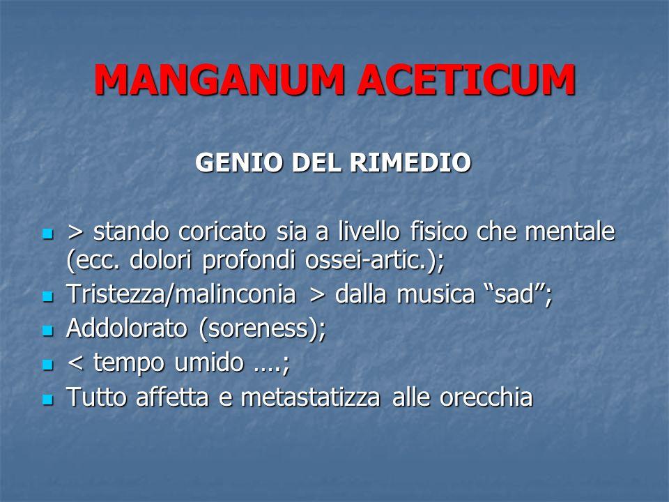 MANGANUM ACETICUM GENIO DEL RIMEDIO