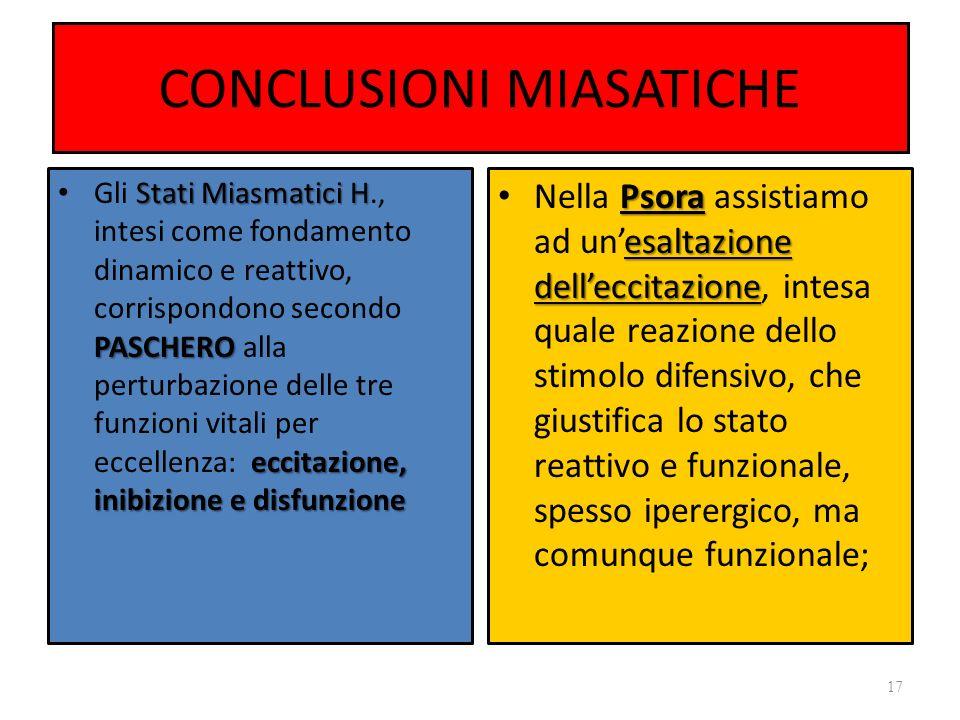 CONCLUSIONI MIASATICHE
