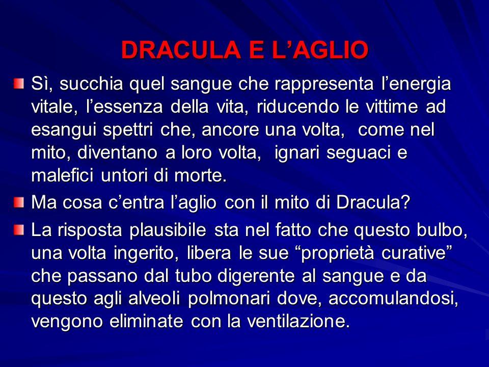 DRACULA E L'AGLIO