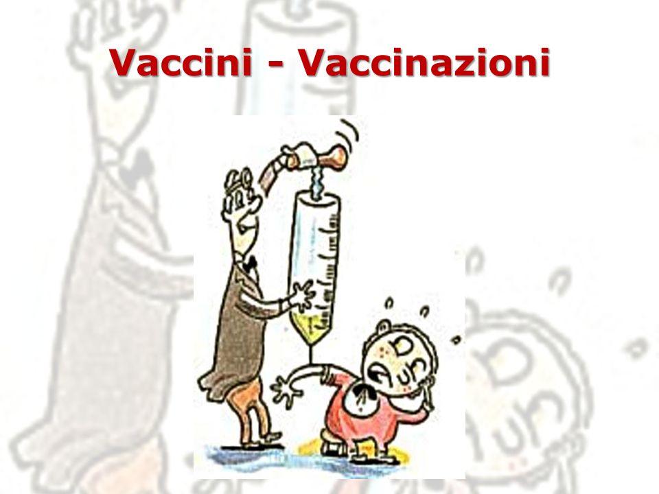 Vaccini - Vaccinazioni