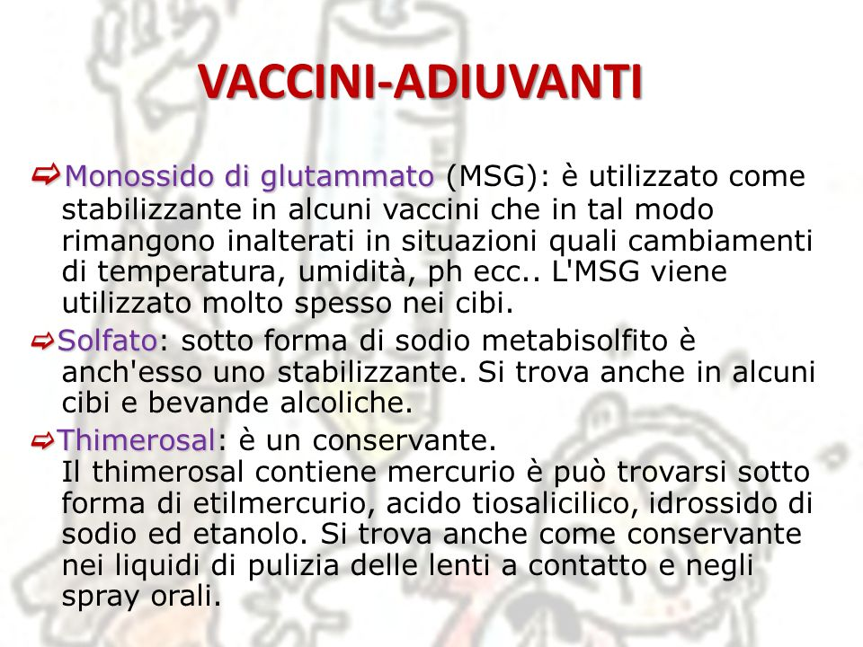 VACCINI-ADIUVANTI