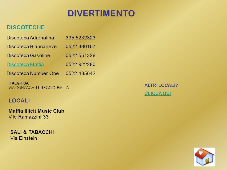 DIVERTIMENTO DISCOTECHE LOCALI Discoteca Adrenalina 335.5232323