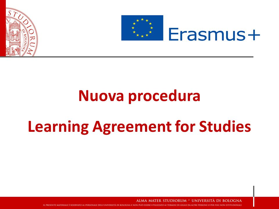 Learning Agreement for Studies