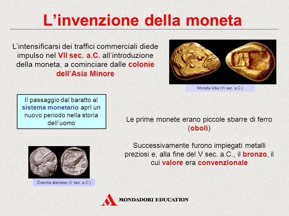 L'invenzione della moneta