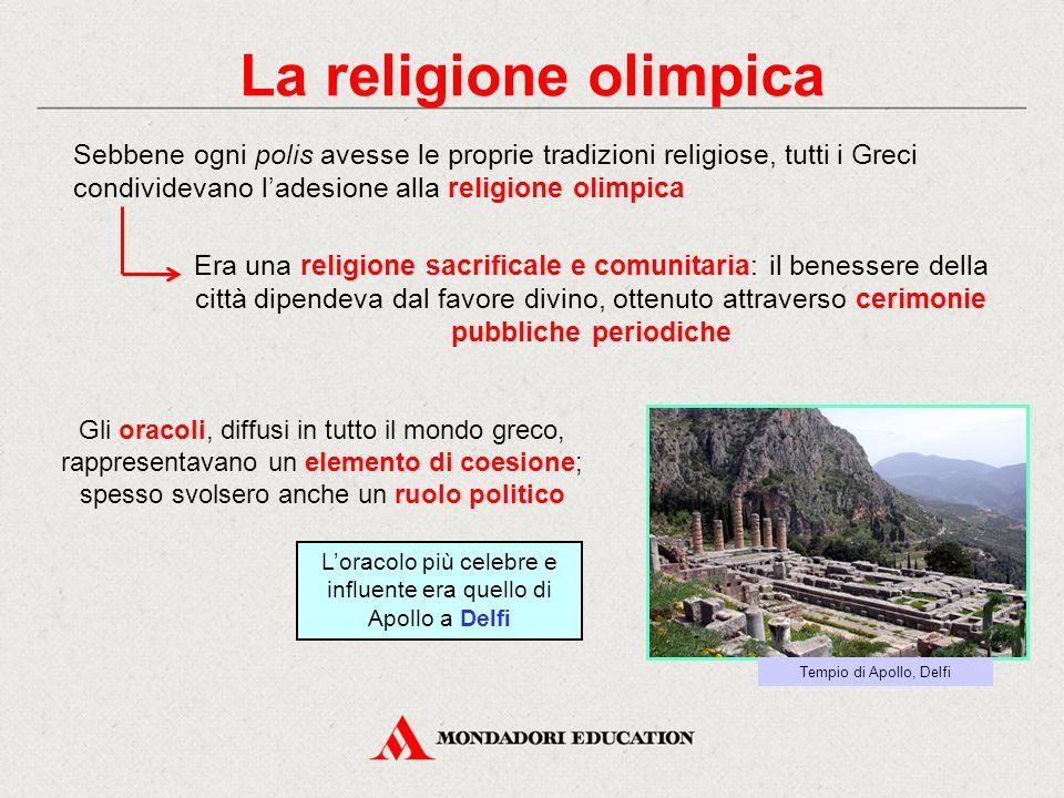 L'oracolo più celebre e influente era quello di Apollo a Delfi