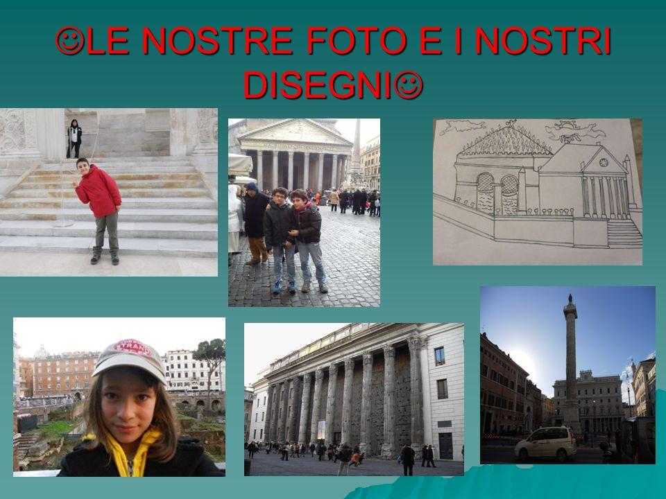LE NOSTRE FOTO E I NOSTRI DISEGNI