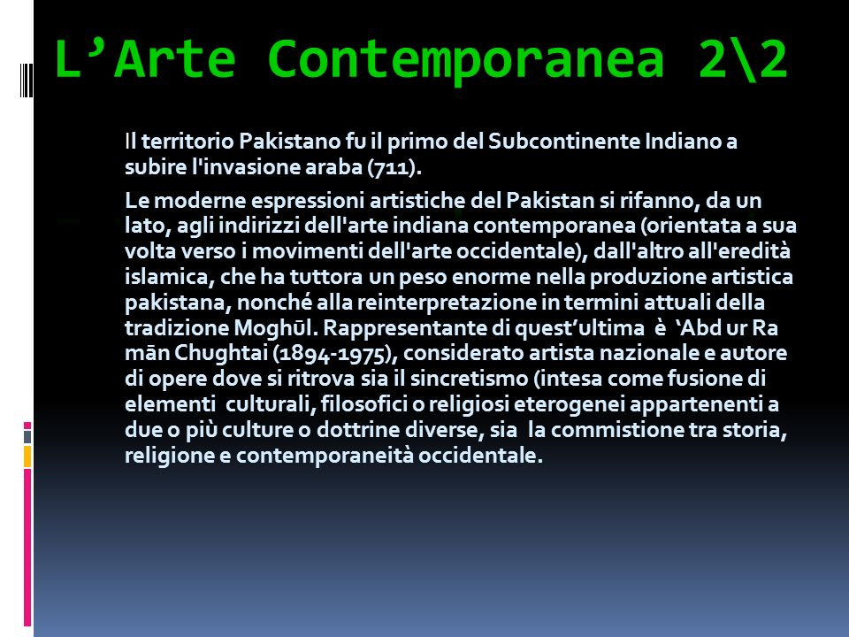 L'Arte Contemporanea 2\2