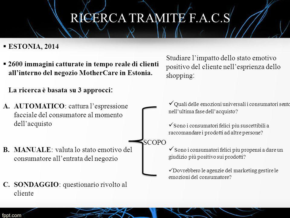 RICERCA TRAMITE F.A.C.S ESTONIA, 2014