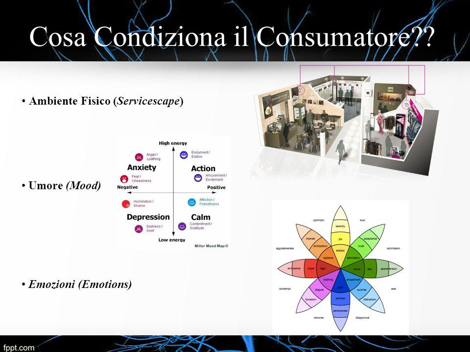 Cosa Condiziona il Consumatore