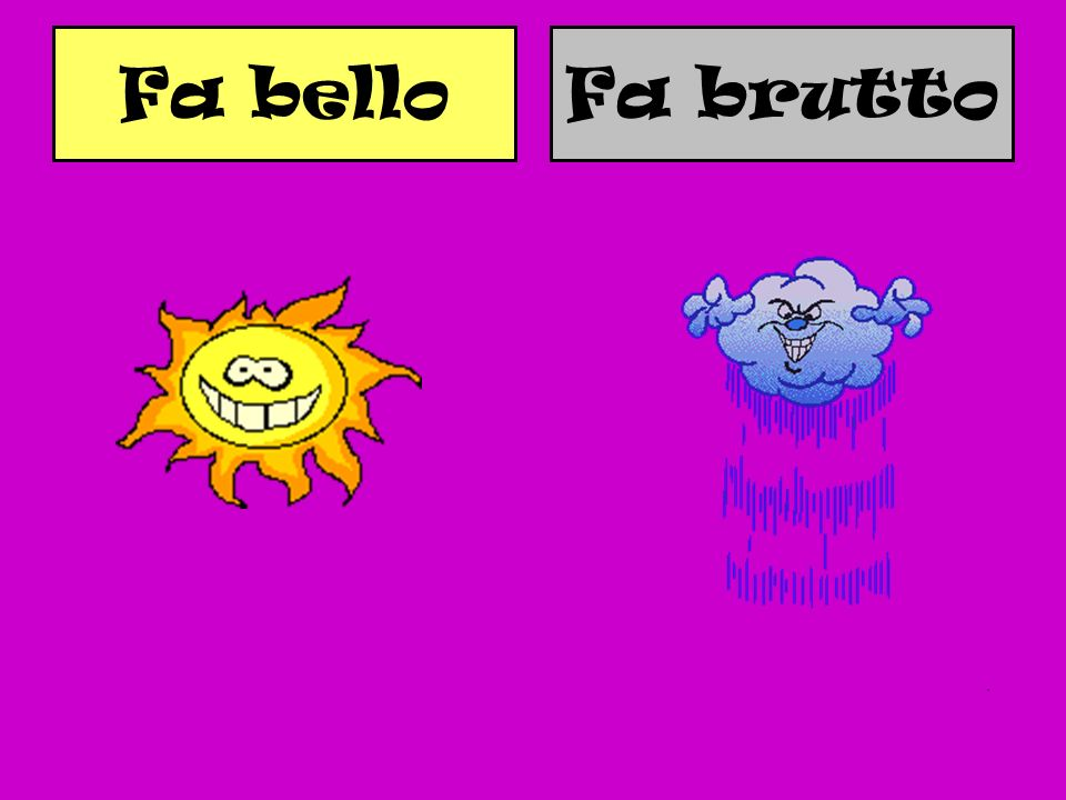 Fa bello Fa brutto