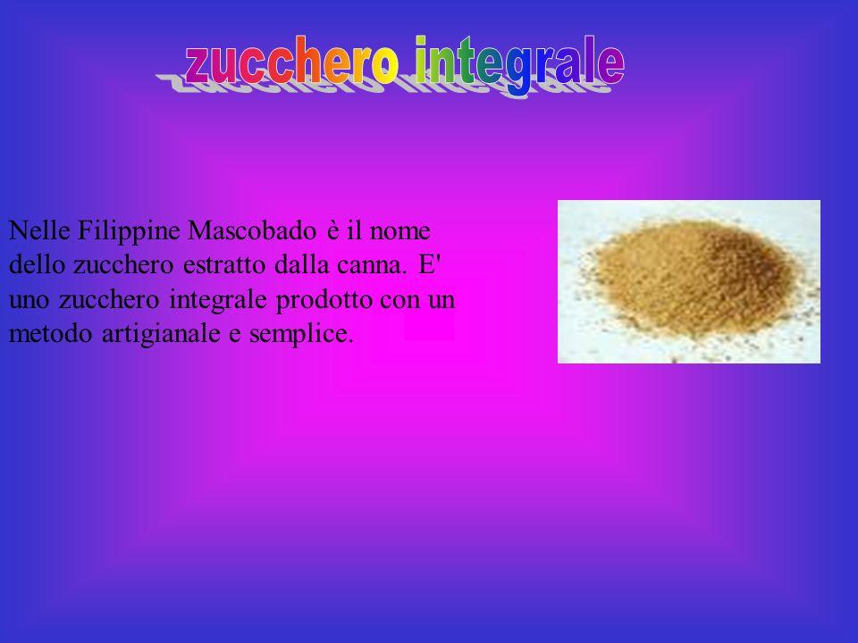 zucchero integrale