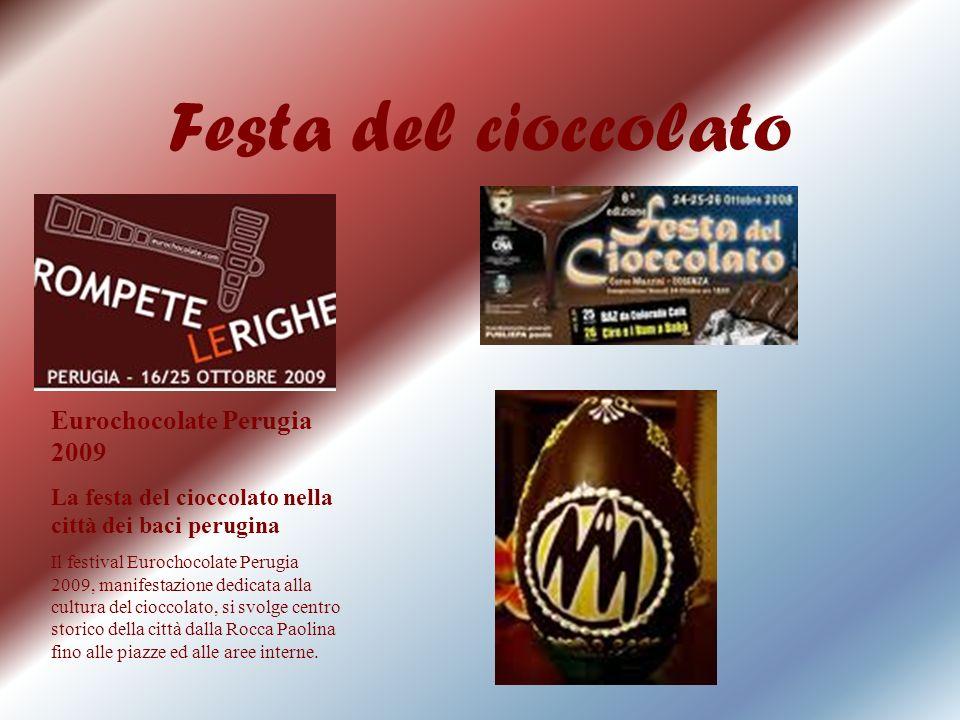 Festa del cioccolato Eurochocolate Perugia 2009