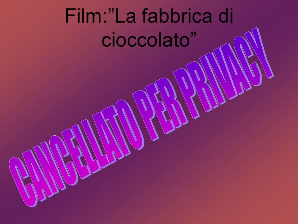 Film: La fabbrica di cioccolato