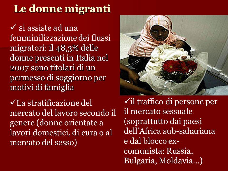 Le donne migranti