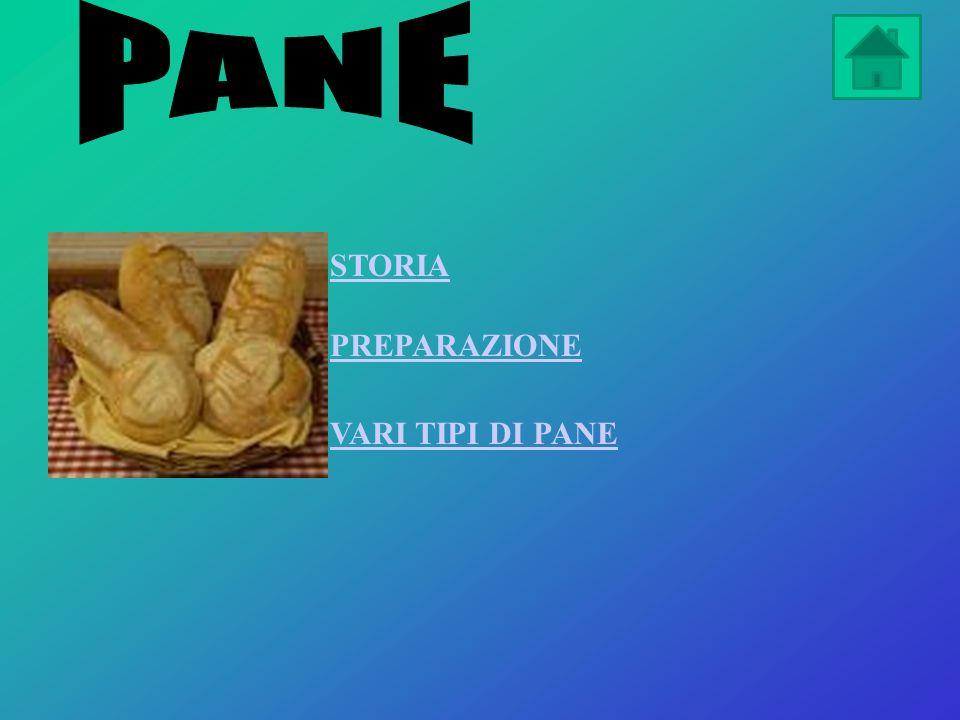 PANE STORIA PREPARAZIONE VARI TIPI DI PANE