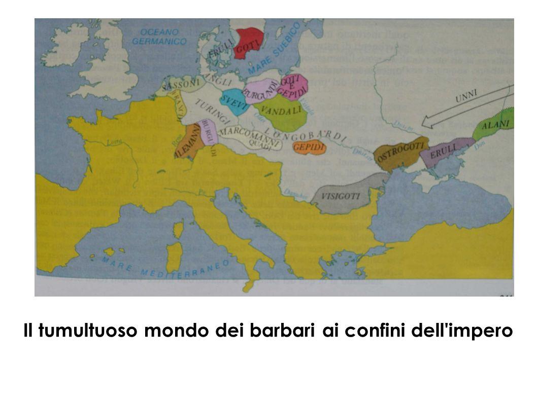 Il tumultuoso mondo dei barbari ai confini dell impero