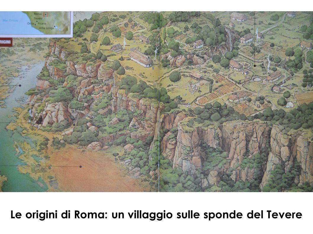 Le origini di Roma: un villaggio sulle sponde del Tevere
