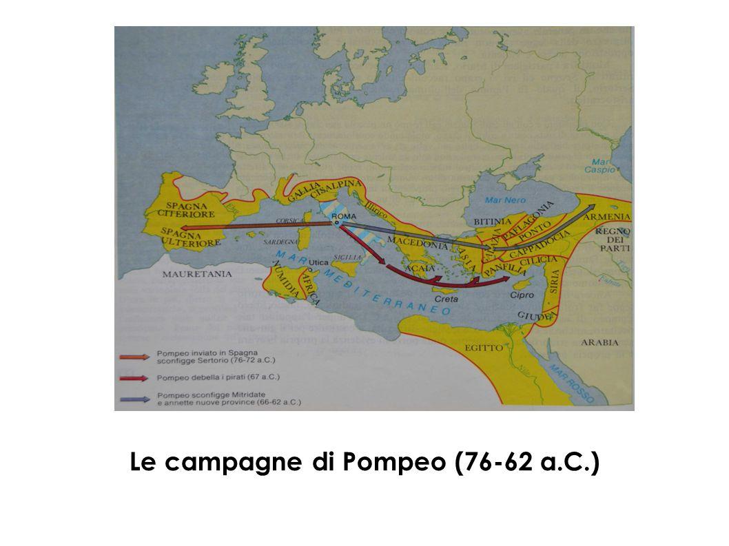 Le campagne di Pompeo (76-62 a.C.)